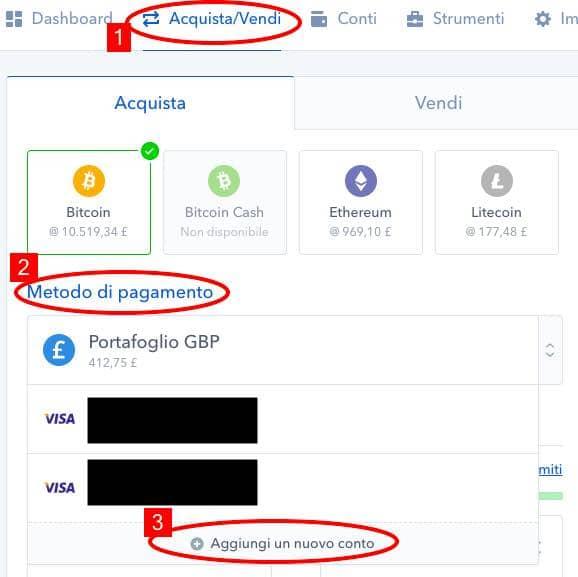 comprare-ethereum-bitcoin-litecoi-coinbase