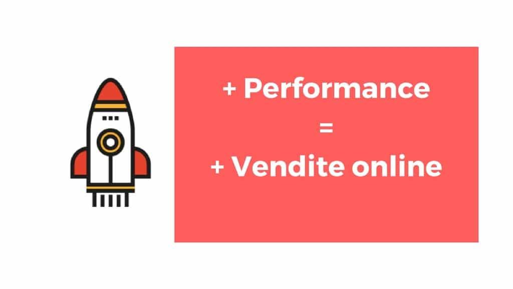 La perfomance del sito internet ti fa aumentare le vendite for Piani del sito online