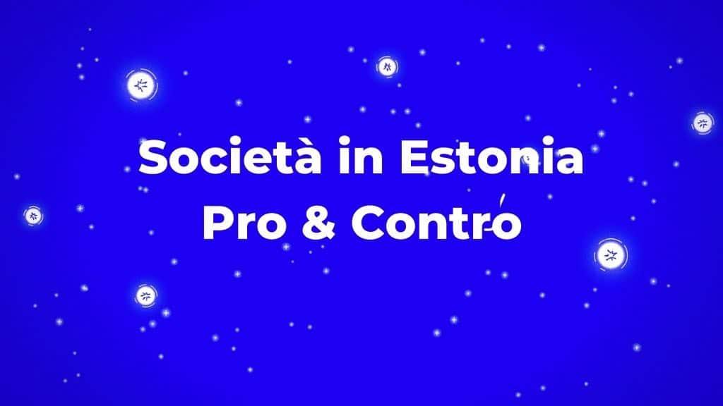 Aprire una società in Estonia con e-residency conviene?