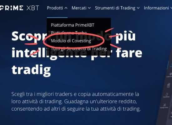social trading bitcoin con primexbt covesting
