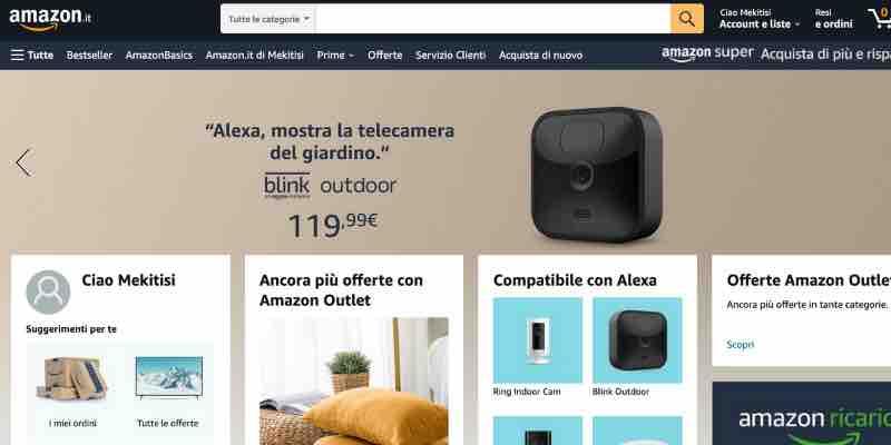 dove vendere su internet Amazon