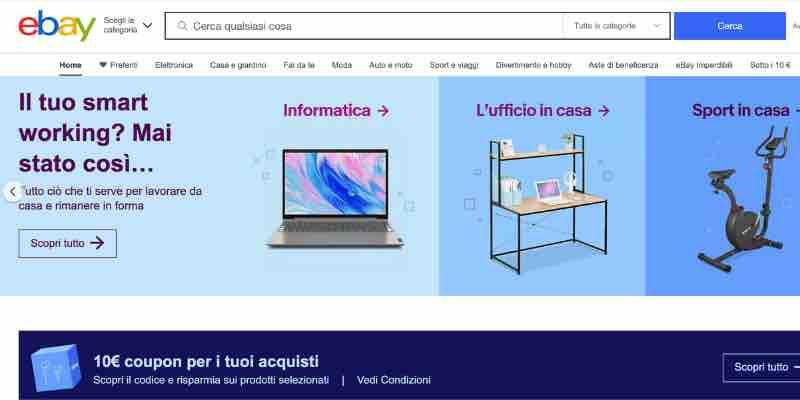 dove vendere online ebay
