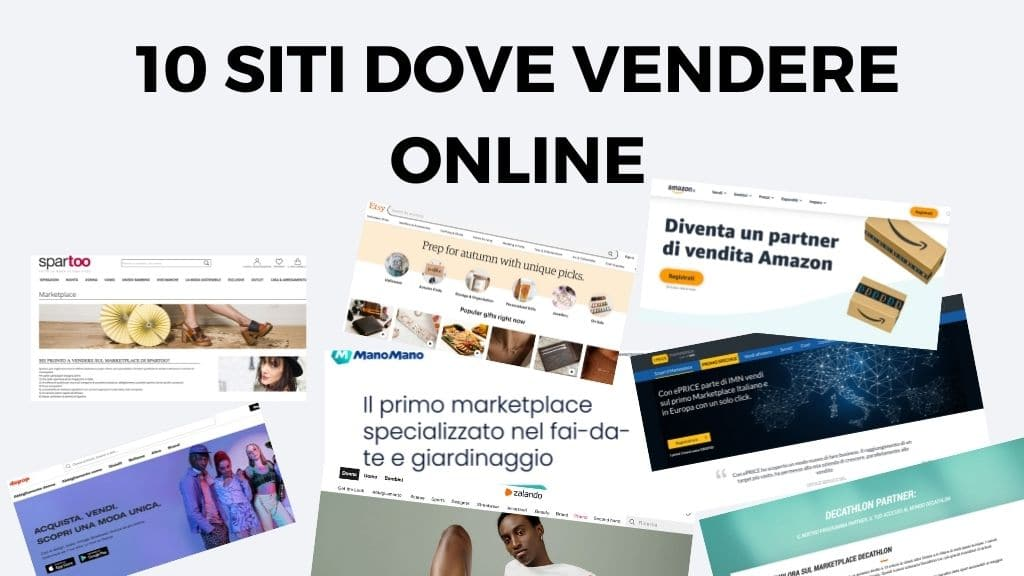 siti dove vendere online