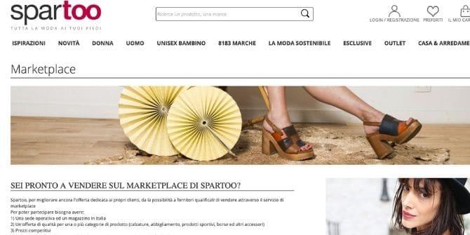 spartoo vendere online abbigliamento